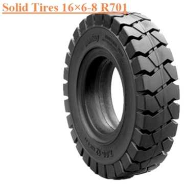Industrial Forklift Solid Tire 16×6-8 R701