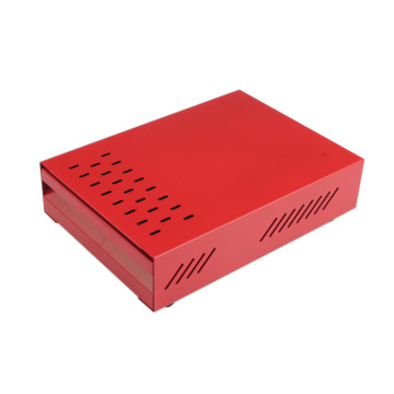 Red CoffeeSeries Coffee Ground Knock Box for Storage