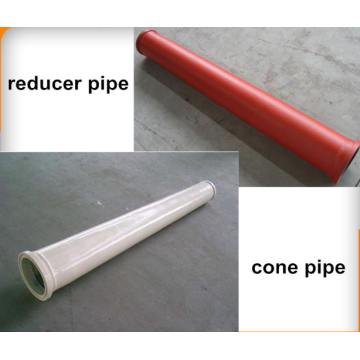 Concrete Pump parts Single Wall Reducer Pipe