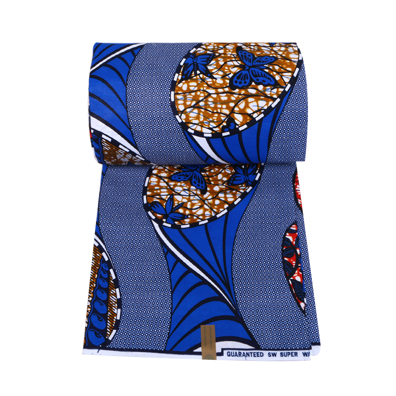 african wax fabric with stones for bag