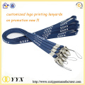 Promotional hot sale silk-screen printing lanyard