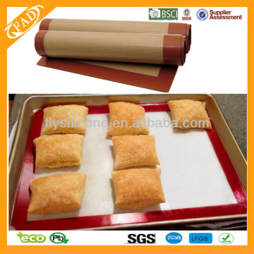 Good Quality for Fiberglass Silicone Baking Mat,Silicone Pastry Mat,Silicone Cooking Mat Supplier in China 16.5'' High Quality Wholesale Silicone Baking Mat supply to Turkey Exporter