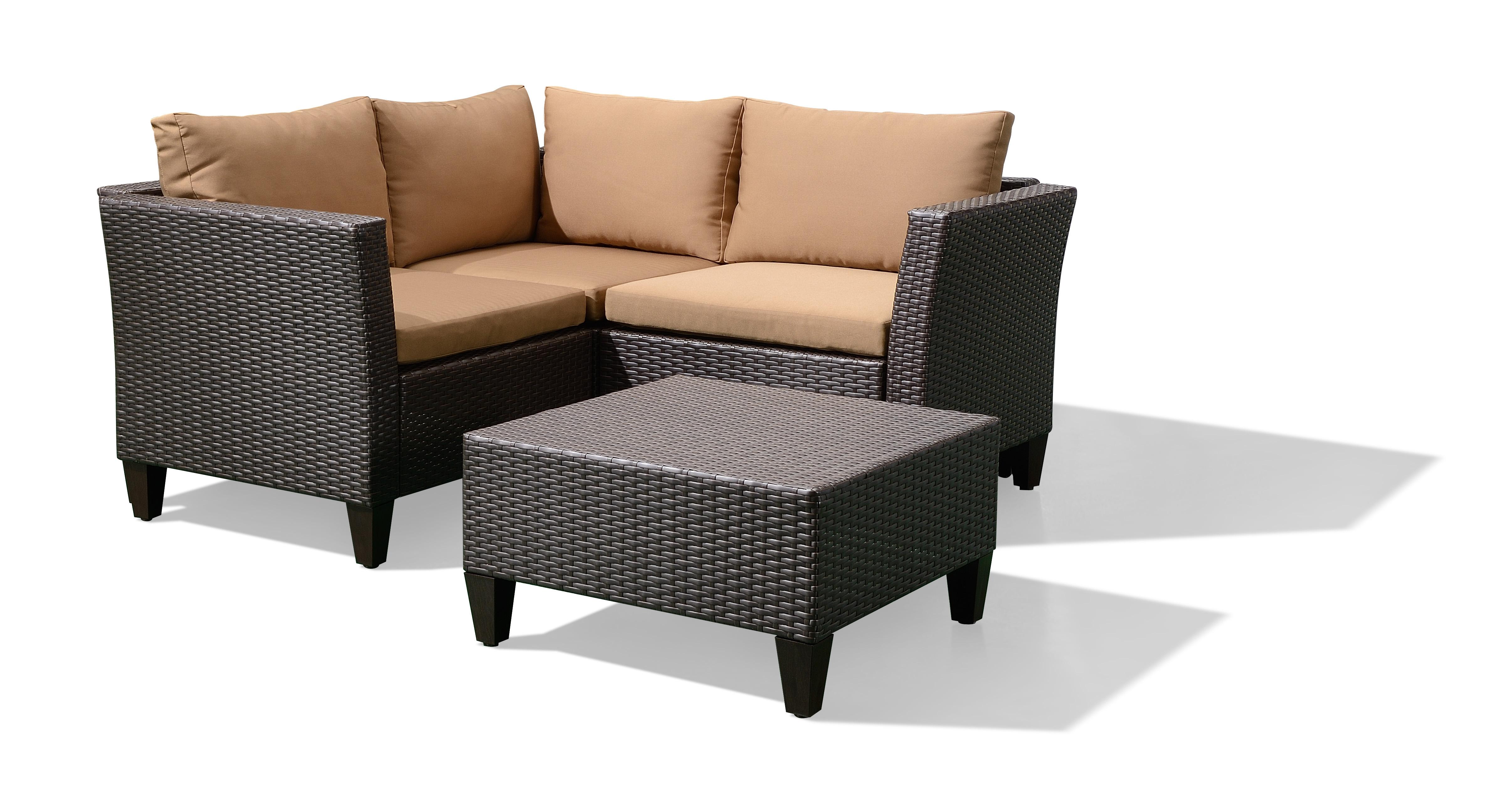 Furniture Of Rattan Big Round Wicker Sofa Set China