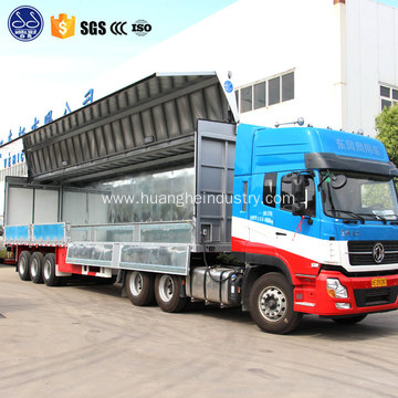 wing van body for truck