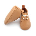 Fashion Real Leather Fancy Baby Oxford Shoes
