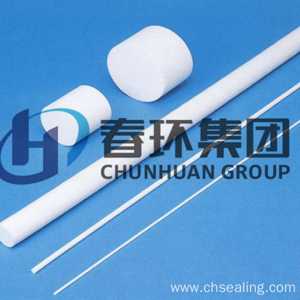 Carbon/Colour Filled Teflon/PTFE Rods