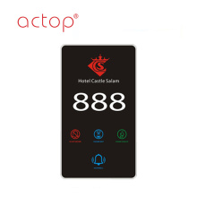 Smart hotel flat Intelligent Smart door plate