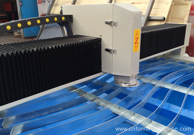 Fabrication HVAC Cnc plasma cutting machine