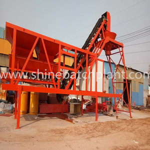 35 Concrete Batching Plant Of Mobile