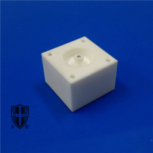 High Performance for Machinable Glass Ceramic precision instrument mica glass ceramics cnc threaded export to South Korea Manufacturer