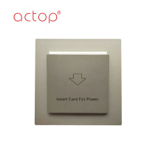 Hotel Power Card Key Switch Electrical Energy Saving Inside Card Switch