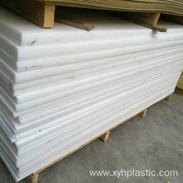 1 Inch Thick Extruded Acetal POM Plastic Sheet