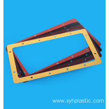 G10 FR4 Black fiberglass plate processing part