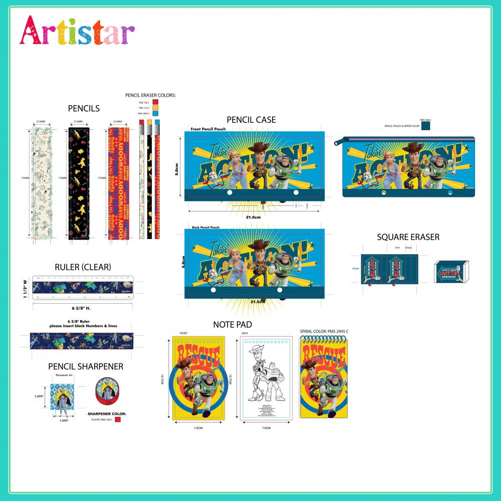 Toy Stationery Set