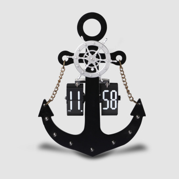 Anchor Flip Clocks For Decor