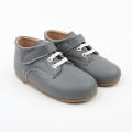 Grey Baby Kids Hard Sole Boots