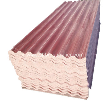Non-asbestos Fireproof Glazed MgO Roof Tiles
