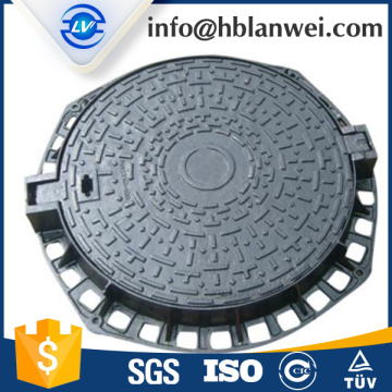 Ductile Iron Gray iron manhole cover EN124 D400