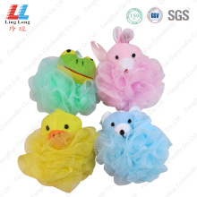 Animal basic absorbent mesh bath ball
