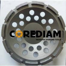 Single-row Diamond Concrete cup wheel