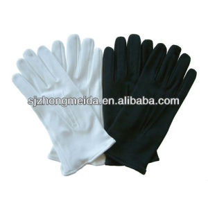 gloves parade cotton military uniform glove