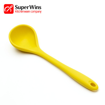 Heat Resistant Cooking Utensil Silicone Soup Ladle
