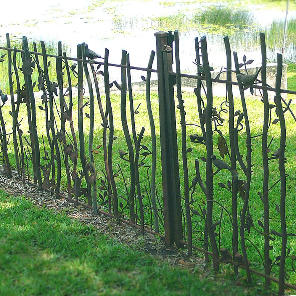 Art And Crafts Decorative Wrought Iron Fence