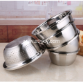 Durable Deep Large Stainless Steel Five Piece Basin