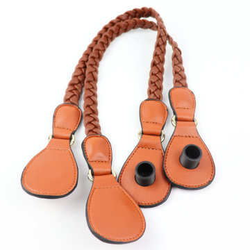 Custom Orange Handbag Braid Obag Handles
