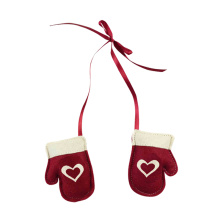 Christmas glove shape hanging pendant ornaments