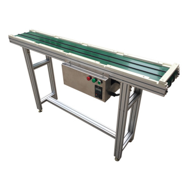 Electric Motor Small Pvc Rubber Belt Conveyor