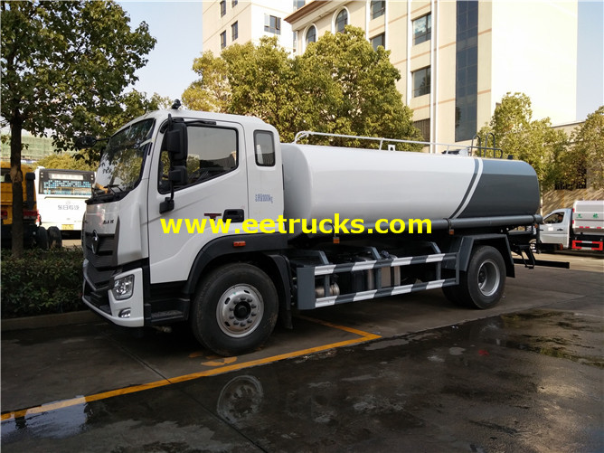 Foton Road Water Tank Vehicles