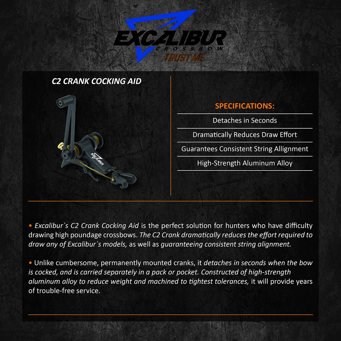 Excalibur_C2_Crank_Cocking_Aid_Product_Description