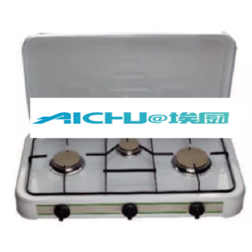 3 Burners Spray Coating Gas Stove