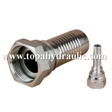 Steel Bsp hydraulic fittings for sale