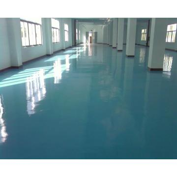 Scratch resistant epoxy self-leveling floor