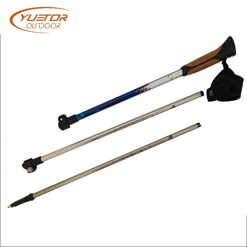 aluminum walking poles