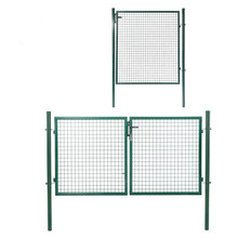 Factory provide nice price for Double Fence Gate welded wire mesh euro yard metal fence gate export to Benin Manufacturers