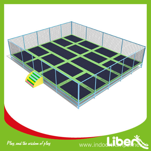 Large indoor pure fun trampoline