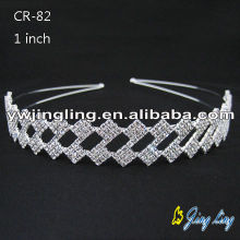 Fashion Rhinestone Tiaras Hair Band
