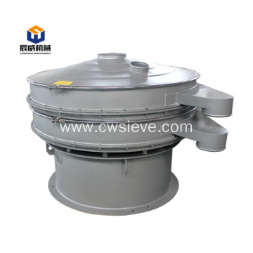 1 deck round separator food vibrating screen