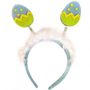 Easter egg shape headband decoration