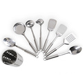 food standard stainless steel kitchen utensils with holder