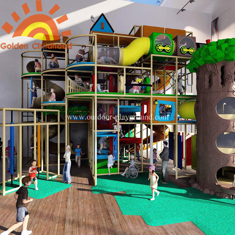 Large indoor play centre structure equipment for sale