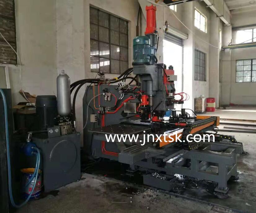 Cnc Steel Plate Punching Marking Drilling Machine