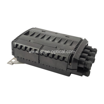 Horizontal Fiber Optic Access Terminal Closure Wall Pole Mounted Joint Closure 288F