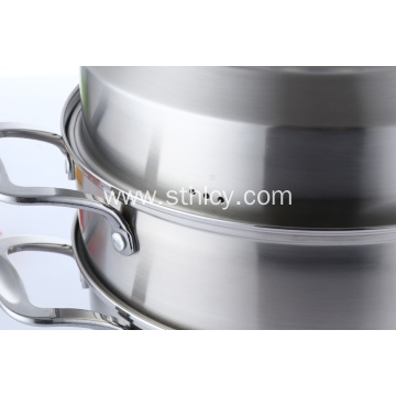 2 Layers Best Stainless Steel Steamer Pot