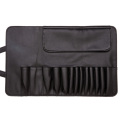 PU Leathe Cosmetic Makeup Bag Brush Organizer