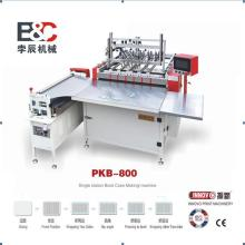 Semi-auto hardcover book case making machine