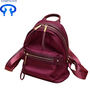 Custom Oxford cloth light travel bag college back